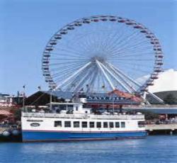 Wisata - Tur dengan Kapal - Danau Michigan Dinner Cruise dan Pilihan Tour Boat